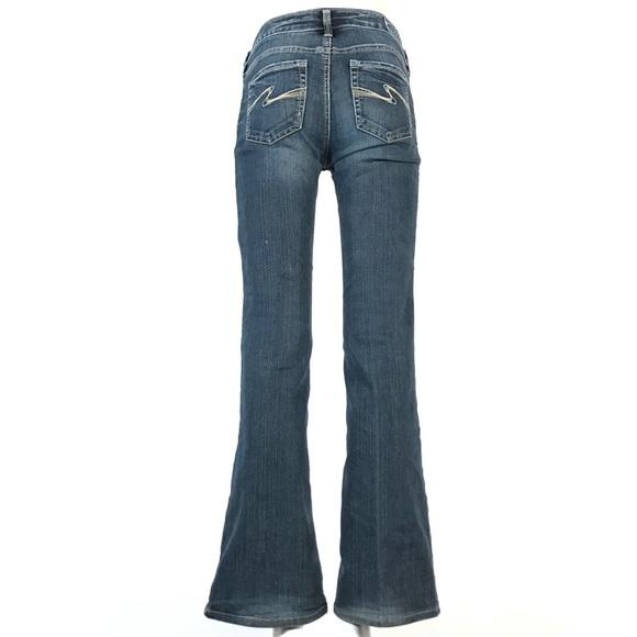 Silver aiko bootcut jeans 27x32